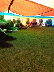 Playing parachute games Spring'16
