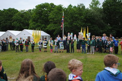 Spelling 'Centenery' with our wprds and memories of Cub camp Summer '16