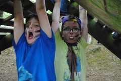 The Cub Mudder Obstacle Challenge at Cub camp Summer '16