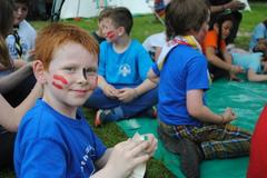 Woggle craft at Cub camp '16
