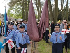 St George's Day parade Spring '16
