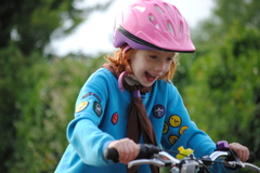 Beavers Cycle badge July '16