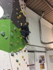 Cubs go climbing